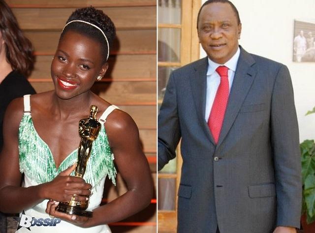 lupita and kenya's president