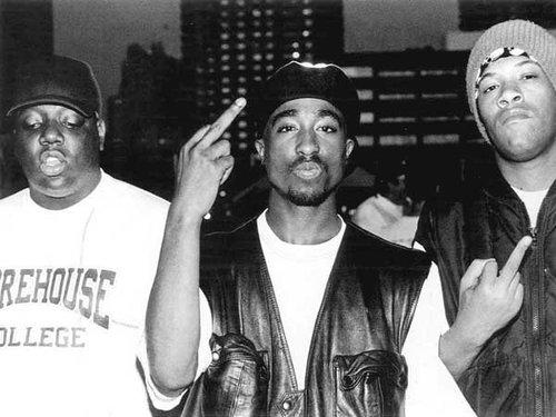 Tupac Shakur biggie Redman