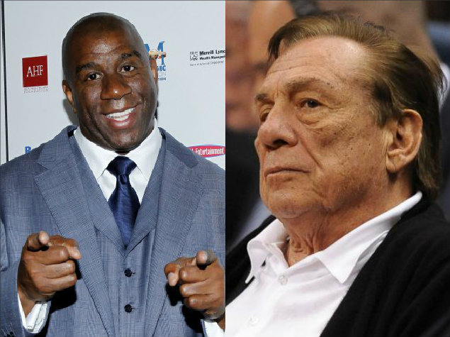 Magic Johnson Donald Sterling